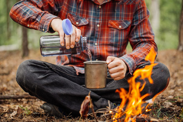 Astuces pour avoir de l'eau potable en camping