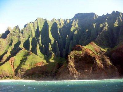 Napali Coast voyage a hawai