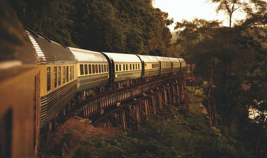 Train touristique thailande