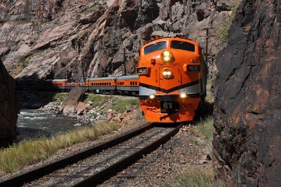 Train touristique colorado Royal Gorge